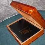 Aromatic Cedar Box with Bible