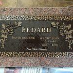 Bronze Headstone Marker 1