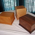 Blank Solid Wood Cremation Urns