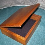 Solid Walnut Keepsake Box