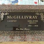 Bronze Headstone Marker 2