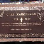 Bronze Headstone Marker 3
