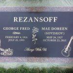 Bronze Headstone Marker 4